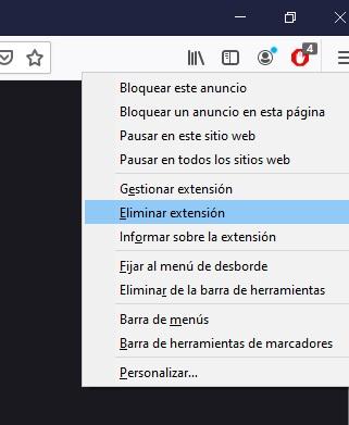 Como quitar Adblock en Firefox