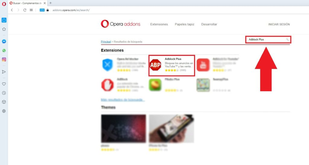 Obtener Adblock Plus para Opera